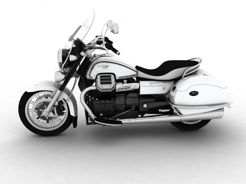 moto guzzi 1400 teithio teithiol 2013 3d 3ds max dxf fbx c4d obj 155885