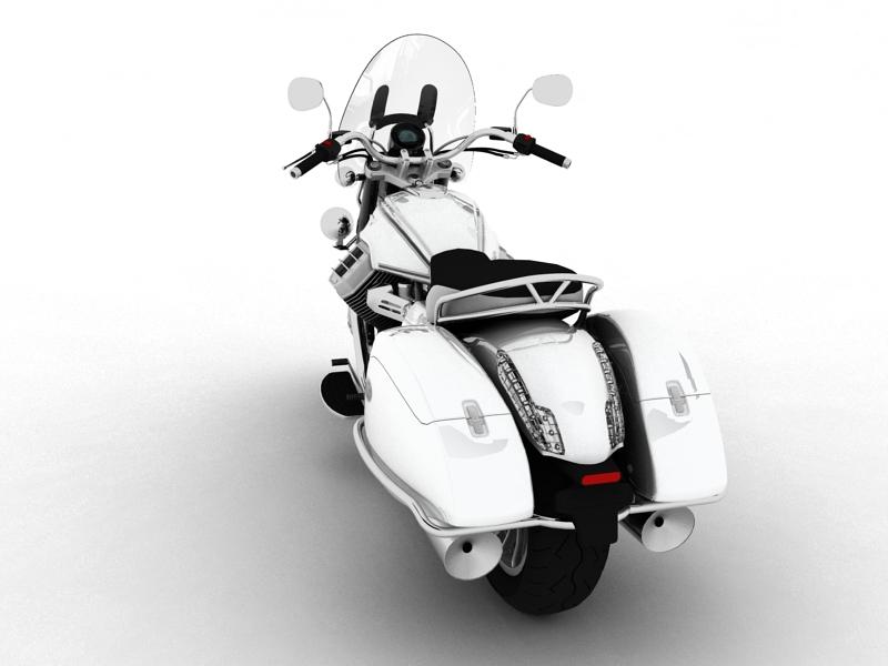 moto guzzi 1400 teithio teithiol 2013 3d 3ds max dxf fbx c4d obj 155887