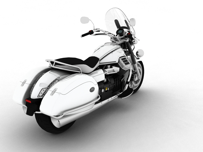 moto guzzi 1400 california touring 2013 3d model 3ds max dxf fbx c4d obj 155888