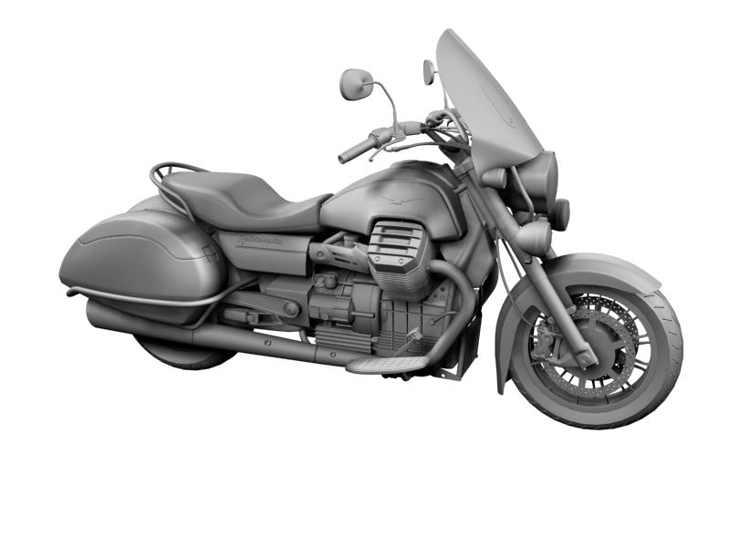 moto guzzi 1400 teithio teithiol 2013 3d 3ds max dxf fbx c4d obj 155890