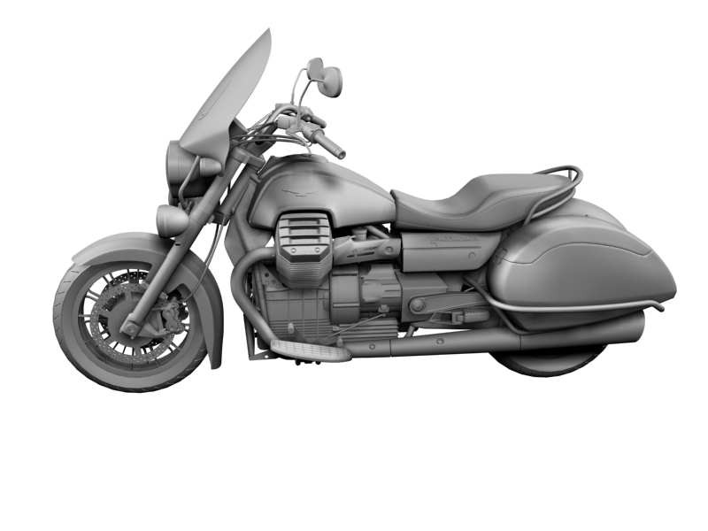 moto guzzi 1400 teithio teithiol 2013 3d 3ds max dxf fbx c4d obj 155892