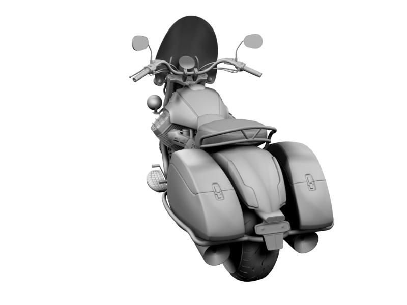 moto guzzi 1400 teithio teithiol 2013 3d 3ds max dxf fbx c4d obj 155894
