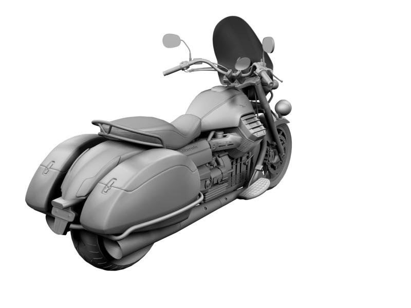 moto guzzi 1400 teithio teithiol 2013 3d 3ds max dxf fbx c4d obj 155895