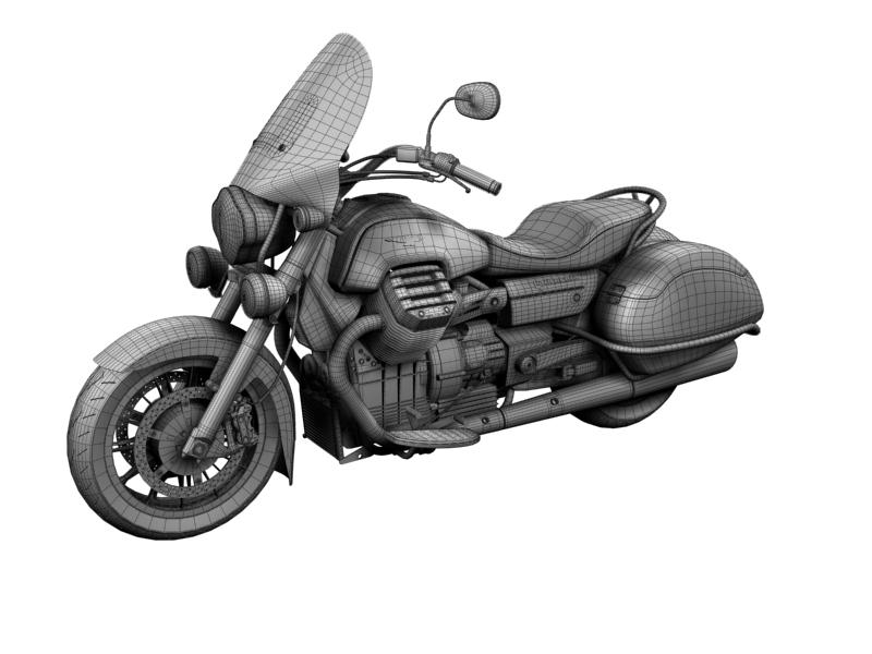 moto guzzi 1400 teithio teithiol 2013 3d 3ds max dxf fbx c4d obj 155898