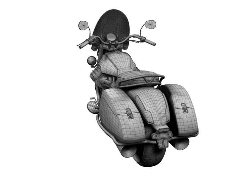 moto guzzi 1400 teithio teithiol 2013 3d 3ds max dxf fbx c4d obj 155901