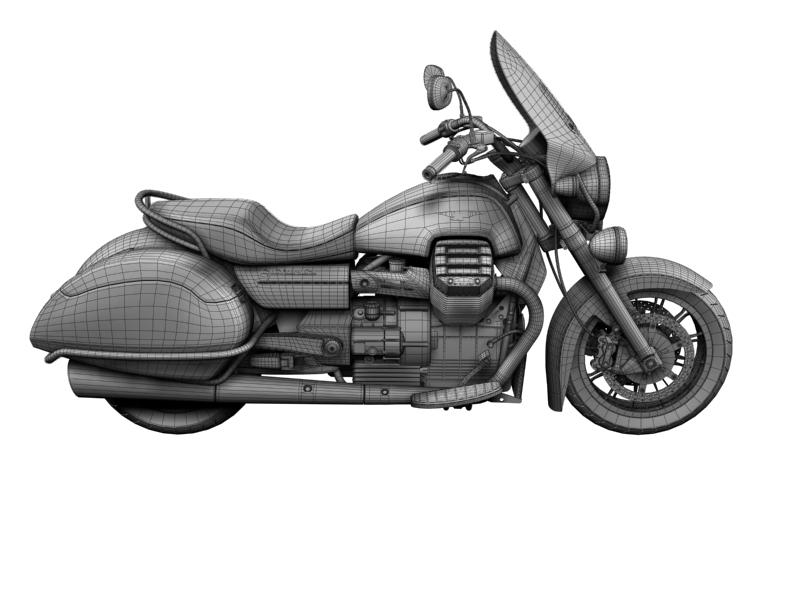 moto guzzi 1400 teithio teithiol 2013 3d 3ds max dxf fbx c4d obj 155903