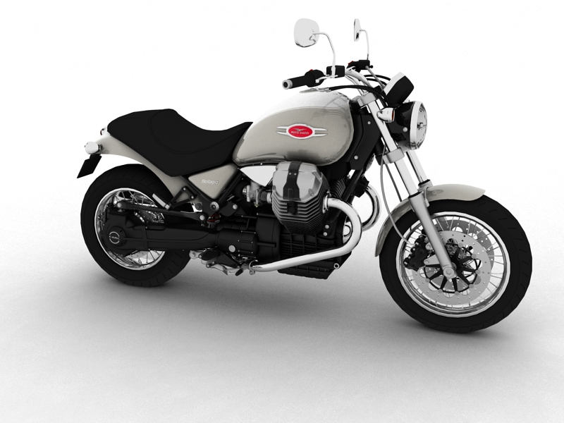 moto guzzi bellagio 2014 3d model 3ds max dxf fbx c4d obj 156948
