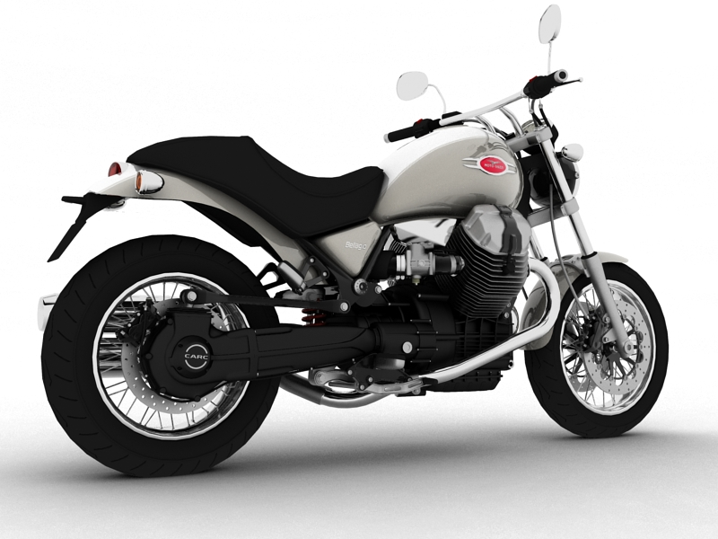 moto guzzi bellagio 2014 3d model 3ds max dxf fbx c4d obj 156949