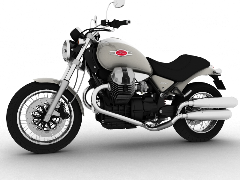 moto guzzi bellagio 2014 3d model 3ds max dxf fbx c4d obj 156950