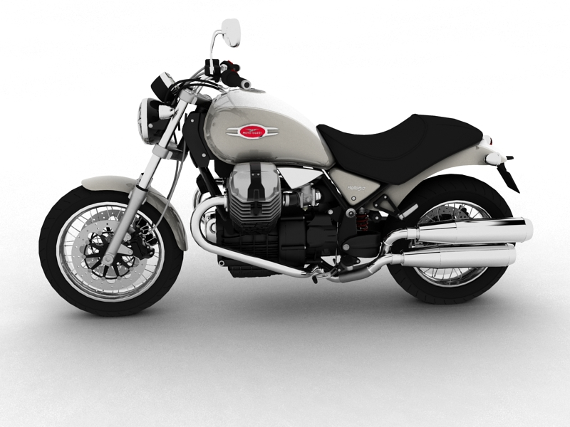 moto guzzi bellagio 2014 3d model 3ds max dxf fbx c4d obj 156952