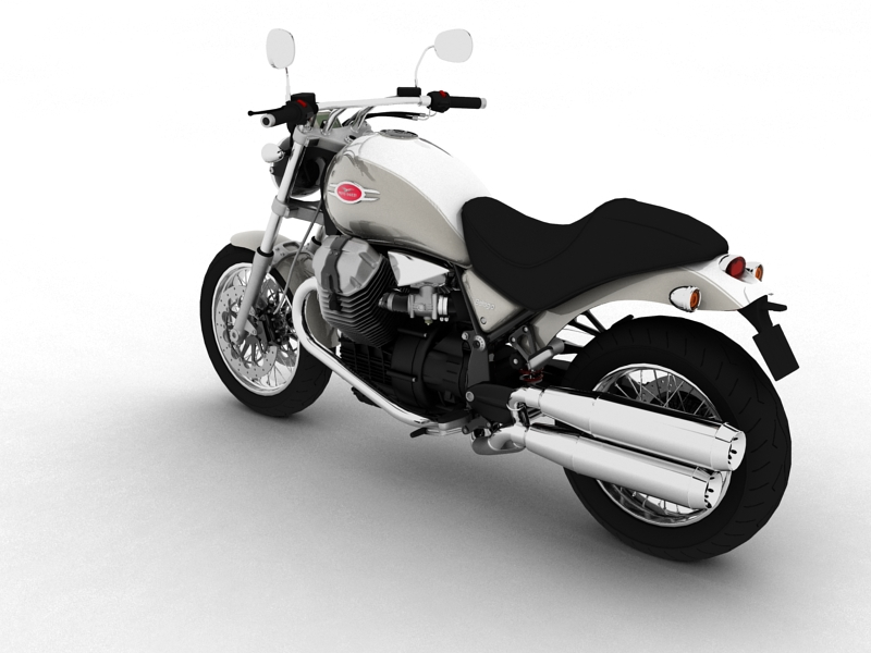 moto guzzi bellagio 2014 3d model 3ds max dxf fbx c4d obj 156953