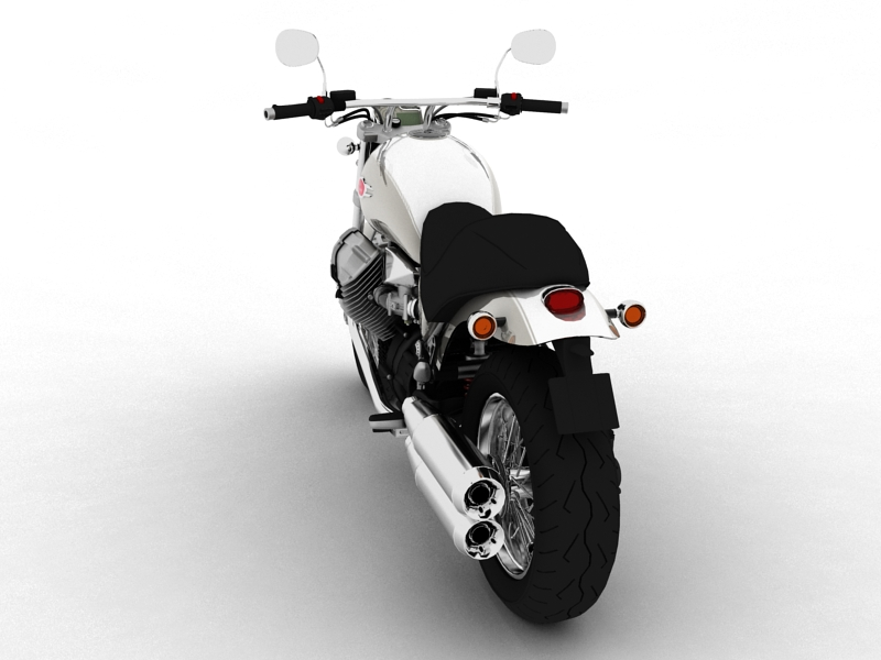 moto guzzi bellagio 2014 3d model 3ds max dxf fbx c4d obj 156954