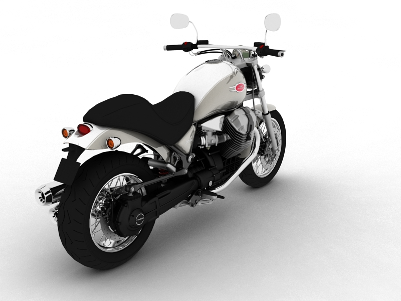 moto guzzi bellagio 2014 3d model 3ds max dxf fbx c4d obj 156955