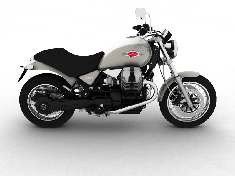 moto guzzi bellagio 2014 3d model 3ds max dxf fbx c4d obj 156956