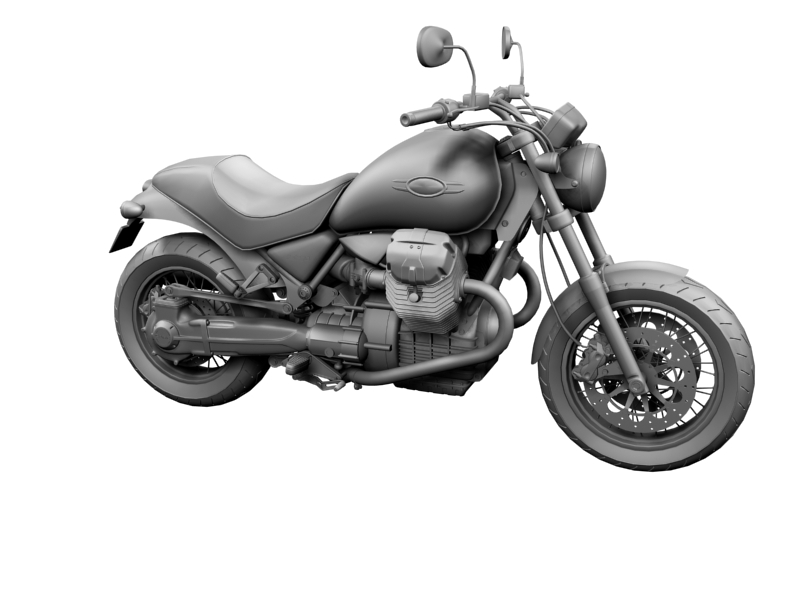 moto guzzi bellagio 2014 3d model 3ds max dxf fbx c4d obj 156957