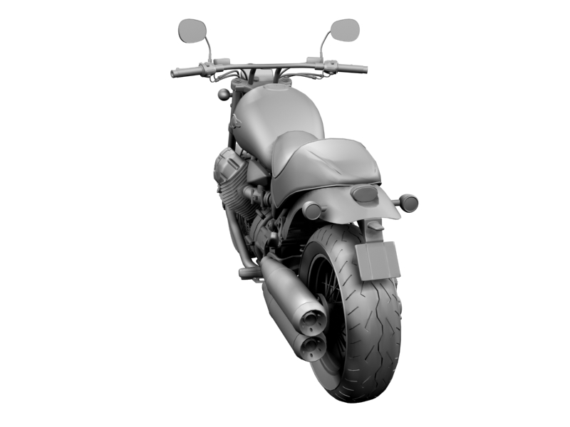 moto guzzi bellagio 2014 3d model 3ds max dxf fbx c4d obj 156960