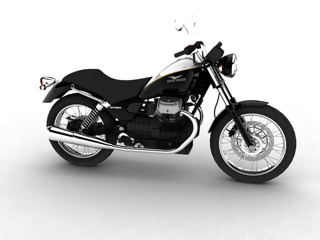 moto guzzi nevada anniversario 2011 3d model 3ds max c4d obj 152078