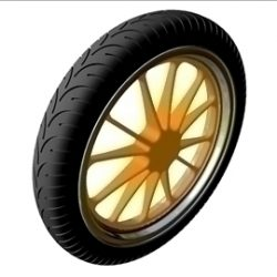 Motorcycle Front Wheel  Tire ( 42.07KB jpg by ajwheels )