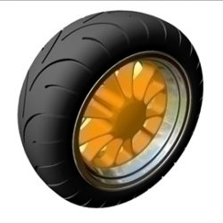 Motorcycle Rear Wheel  Tire ( 38.47KB jpg by ajwheels )