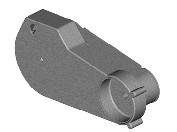 open primary drive for motorcycle engine 3d model 3ds dxf 99090