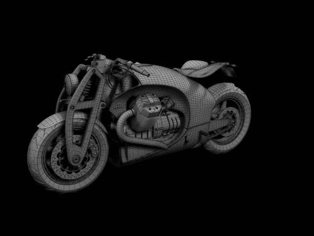 renard grand tourer 2012 3d model 3ds max fbx c4d obj 154989