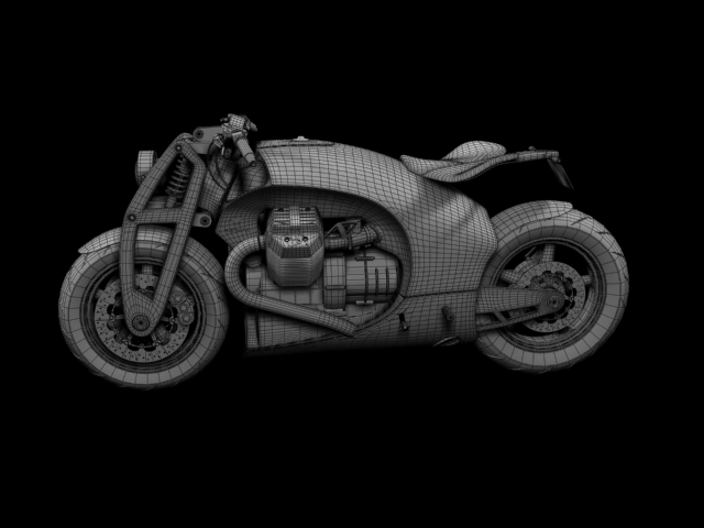 renard grand tourer 2012 3d model 3ds max fbx c4d obj 154990