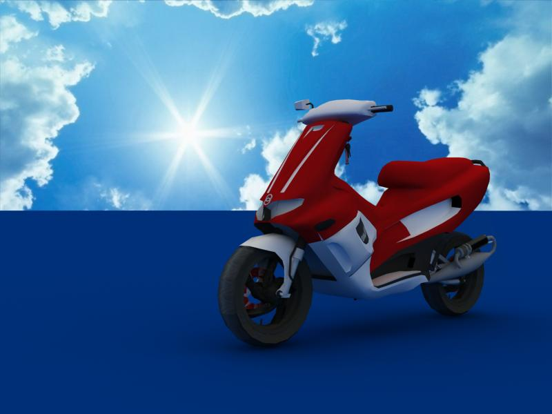 scooters collection 3d model 3ds max dxf dwg fbx obj 121183