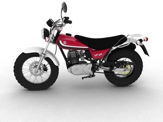 suzuki rv125 vanvan 2013 3d model 3ds max fbx c4d obj 155099