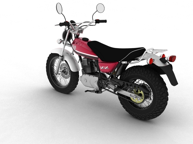 suzuki rv125 vanvan 2013 3d model 3ds max fbx c4d obj 155100