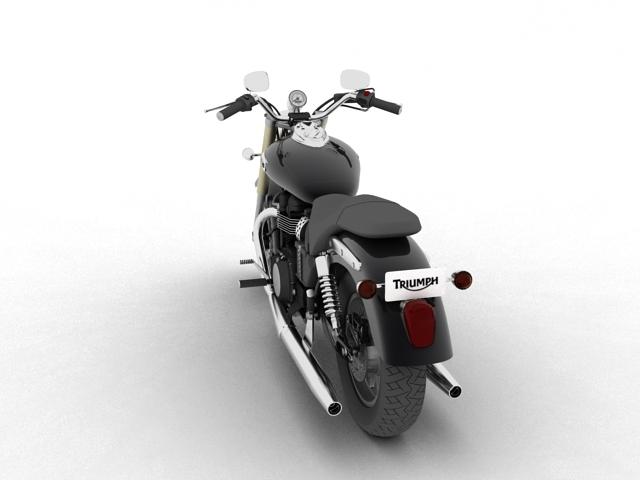 triumph america 2012 3d model 3ds max fbx c4d obj 154906