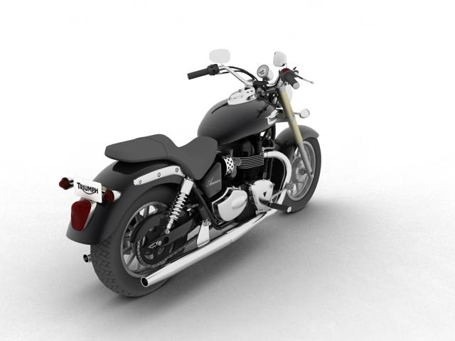 triumph america 2012 3d model 3ds max fbx c4d obj 154907
