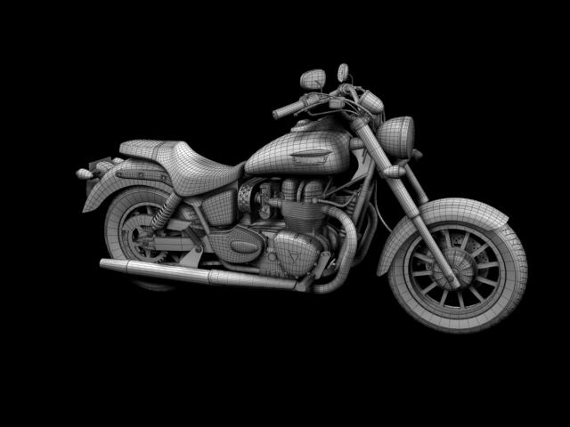triumph america 2012 3d model 3ds max fbx c4d obj 154916