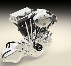 v twin engine ( 48.71KB jpg by tibor )