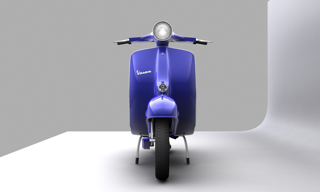 vespa 150 piaggio primavera 3d model max 113880