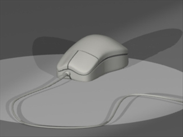 computer mouse 3d model 3ds dxf lwo 81120