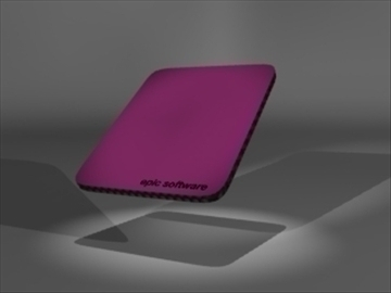 mouse pad 3d model 3ds dxf lwo 81121
