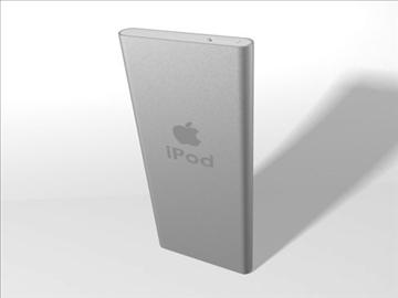 2006 ipod nano 3d modelis 3ds dxf fbx c4d cits obj 82677