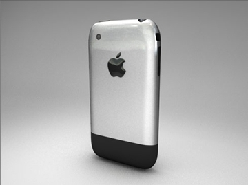 Apple iPhone 3d модел 3ds dxf fbx c4d други обј 82688