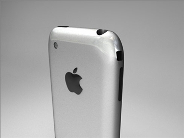 Apple iPhone 3d модел 3ds dxf fbx c4d други обј 82690