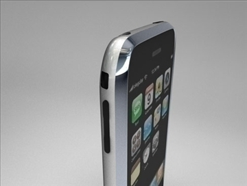 Apple iPhone 3d модел 3ds dxf fbx c4d други обј 82691