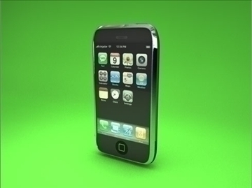 Apple iPhone 3d модел 3ds dxf fbx c4d други обј 82692