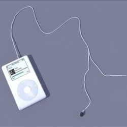 IPOD ( 39.84KB jpg by ivan3dbinary )