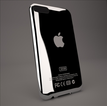 ipod touch 2g 3g 3d model 3ds max dwg texture obj 112161