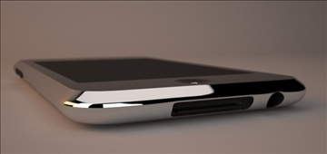 ipod touch 2g 3g 3d model 3ds max dwg texture obj 112163
