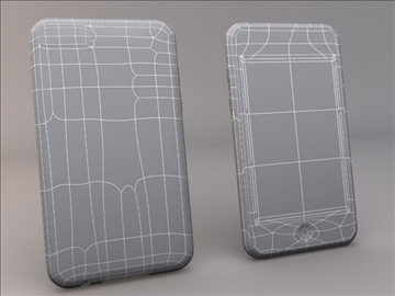 ipod touch 2g 3g 3d model 3ds max dwg texture obj 112165