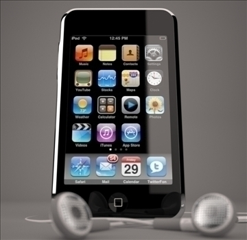 ipod touch 2g 3g 3d model buy ipod touch 2g 3g 3d model. Black Bedroom Furniture Sets. Home Design Ideas