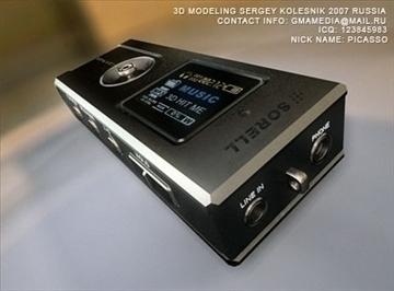 mp3 pleer flash 3d model max 81038