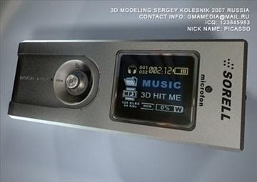 mp3 pleer flash 3d model max 81039