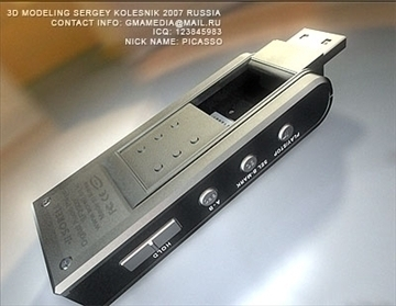 mp3 pleer flash 3d model max 81042