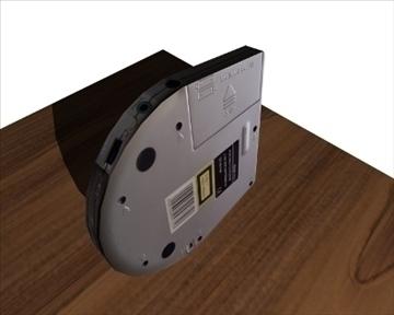 portable disc player 3d model 3ds 98199